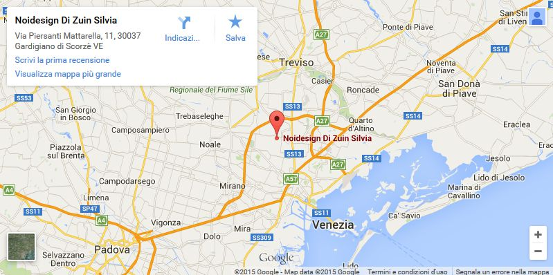 Vai a Noidesign su Google Maps