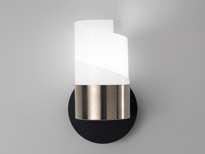 Noi design caracl wall lamp black nickel mozeypictures Images